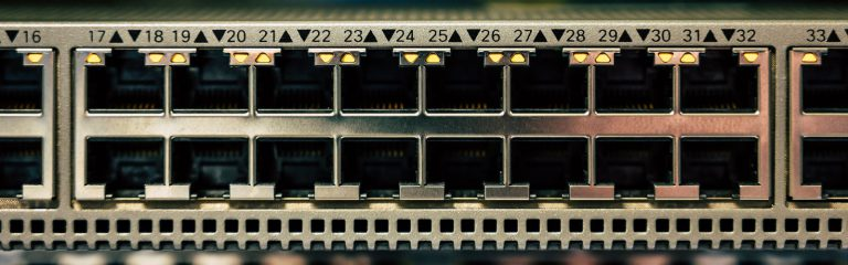 Powered Network Switch